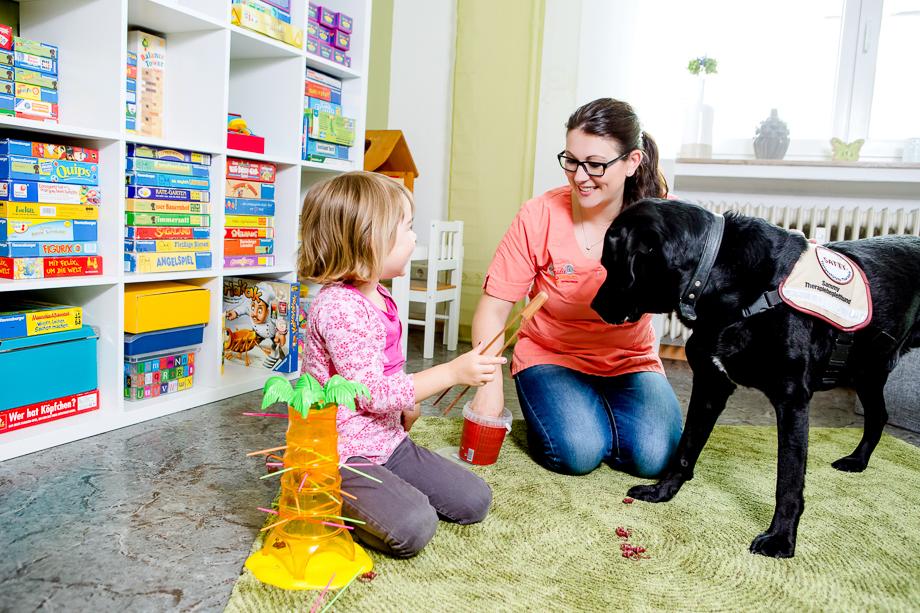 Therapiehund Sammy, Tiergestützte Therapie